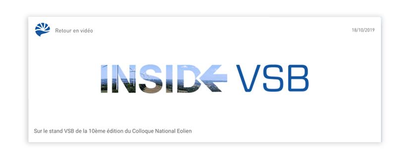 VSB application